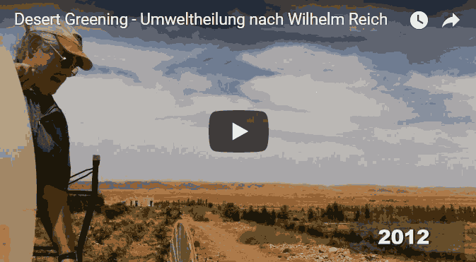 Desert Greening, Wüstenbegrünung und Atmosphärenharmonie